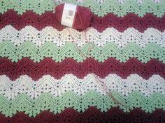 Ravelry: 6-Day Kid Blanket #crochet pattern by Betty McKnit