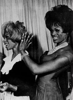 VINTAGE PIC OF DRAG QUEENS CIRCA THE 1960'S.