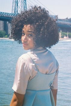 "daono: "" Amandla Stenberg by Petra Collins for NYLON Magazine, 2015 """