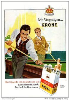 Original-Werbung/ Anzeige 1965 - 1/1  SEITE - KRONE CIGARETTEN -  ca. 180 x 240 mm