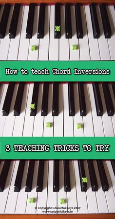 Follow this three step strategy for teaching chord inversions and your piano students will be inversion pros in no time at all.