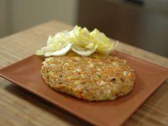Receta Plato : Hamburguesa vegetariana de avena por FitKen