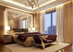 Modern Luxury Interior Design Ideas for Your Home Elegant Bedroom Design, Luxury Bedroom Design, Luxury Interior Design, Bedroom Designs, Modern Bedroom Furniture, Contemporary Bedroom, Diy Bedroom Decor, Home Decor, Bedroom Ideas