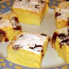This cake souffle like and made in your iron skillet. It is not overly sweet, but it sure grabs your attention! Hungarian Desserts, Hungarian Recipes, My Recipes, Cookie Recipes, No Bake Desserts, Dessert Recipes, Bread Dough Recipe, Baking And Pastry, Sweet And Salty