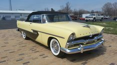 1956 Plymouth Belvedere Convertible Plymouth Savoy, Plymouth Rock, Plymouth Cars, Plymouth Belvedere, Cars Usa, Us Cars, 1954 Chevy Bel Air, Convertible, 1950s Car