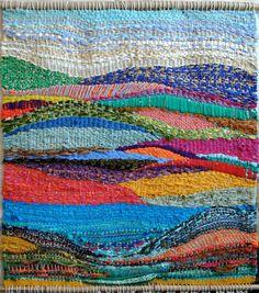 Woven Landscape Tapestry - by devyn leonor briggs