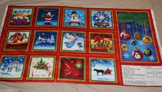 Christmas VIP A Joyful Season soft fabric book 100% cotton fabric - NOT premade #VIPCranston #pmscrafts74