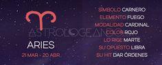 ARIES: CARACTERÍSTICAS #Astrología #Zodiaco #Astrologeando #Aries