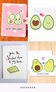 16 Valentines Day Cards That Accurately Describe Your Love Of Avocados Birthday Valentine