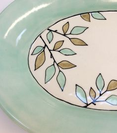 @krystalspeck Vine serving tray detail