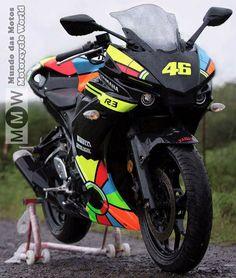 #Yamaha R3 customize as R1 face