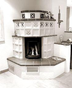 "Képtalálat a következőre: ""kachelofen"" Interior Architecture, Warm, Rustic, Stoves, Fireplaces, Terracotta, German, Home Decor, Boiler"