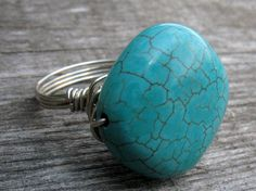 Turquoise jewelry. Available on Etsy.