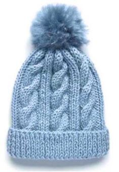 How to Knit a Gilmore Girls Hat Pattern - Her Crochet Beanie Knitting Patterns Free, Knitting Paterns, Baby Hats Knitting, Knitted Hats, Crochet Patterns, Knit Crochet, Crochet Hats, Cable Knit Hat, Hand Knit Scarf