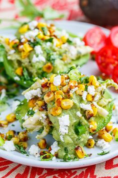 A really quick and easy take on chicken and avocado enchiladas where the chicken and avocado enchilada filling is served stuffed in cool and creamy avocados! Turkey Recipes, Mexican Food Recipes, Chicken Recipes, Chicken Menu, Mexican Meals, Tamales, Quesadillas, Burritos, Nachos