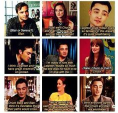 Ed Westwick and Leighton Meester supporting Chuck and Blair