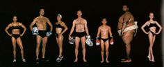 Howard Schatz Shows Us How Varied Athletic Body Types Can Be #Olympics  #sochi
