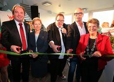 Hotel-Eröffnung im September 2014 gemeinsam mit Ottfried Fischer
