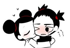 Pucca is madly in love with Garu-everyone knows that. But, what about Garu? What does he feel about Pucca? But, as time passes, Pucca is alr. Anime Couples, Cute Couples, Sailor Moon Makeup, Funny Love Story, Dream Anime, Anime Version, Anime Toys, Classic Cartoons, Cartoon Art
