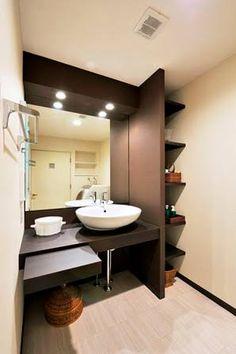 「洗面台  化粧スペース」の画像検索結果