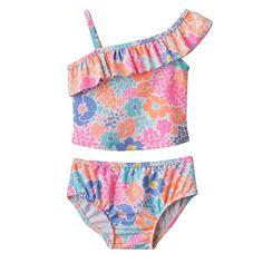 Carter's Floral 2 Piece Swimsuit 12 Months