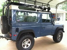 1997 Land Rover Defender 90 Exterior in Arles Blue... my favorite