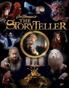 this series re-aired on HBO in the early 90s & I watched it every morning as a child!//The Storyteller by Jim Henson. Totally remember watching these as a kid!