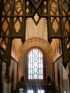 The Guardian Building Detroit | The mosaics are so gorgeous! #detroit