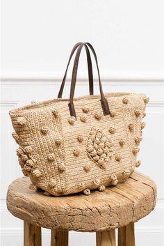 Bags beige, le buci raphia | gerard darel. Italianist.com