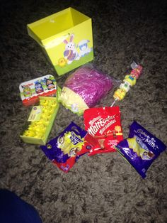 Easter goodies pound shop