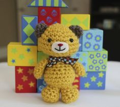 FREE Little Muggles Mini Bear Crochet Pattern. FREE PATTERN 5/14.