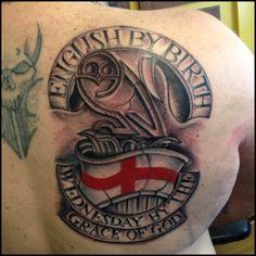 Football tattoo swfc #sheffieldwednesday #blackandgreytattoo