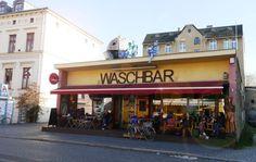 Waschbar - einer der abgefahrensten und ältesten Läden in Potsdam. Szene pur!