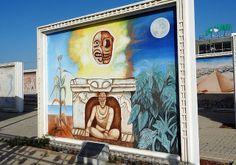 Plaza de las Culturas, Piedras Negras, Mexico