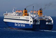 Blue Star Ferries: Αλλαγή των πλοίων στα δρομολόγια των Κυκλάδων