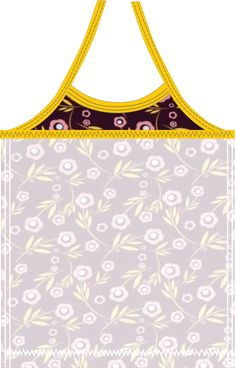 Materialen:  * Tricot -  Lillestoff - Flowers 'n Dots  (Stofbreedte: 150 cm)   75 cm ( maa...