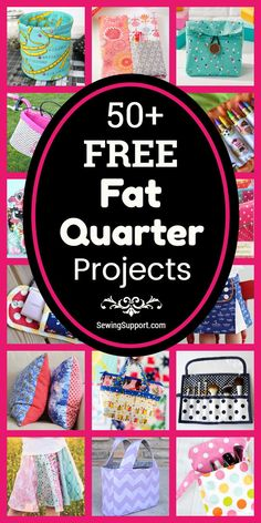Sewing Projects using Fat Quarter fabric bundles. 50 free fat quarter projects tutorials and diy sewing projects. Make bags Sewing Projects using Fat Quarter fabric bundles. 50 free fat quarter projects tutorials and diy sewing projects. Make bags Sewing To Sell, Sewing For Kids, Fat Quarter Projects, Easy Diy Gifts, Diy Gifts To Sell, Diy Couture, Sewing Projects For Beginners, Easy Projects, Sewing Patterns Free