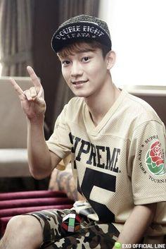 Chen Chen so cute :)