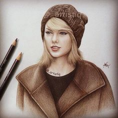 Taylor Swift sketch. Whoever did this is amazing!