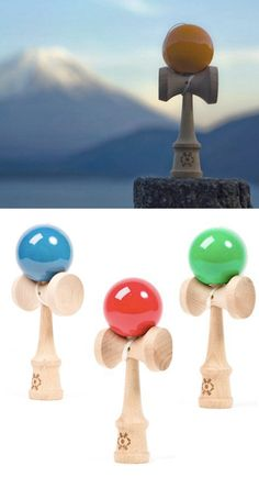 Kendama is a traditional Japanese skill toy similar to the classic cup and ball game. Catch one object with another using simple and complex tricks. Great for beginners and advanced players.