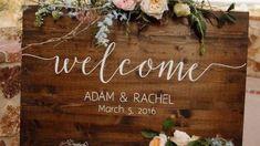 Creative Wedding Signs For Beach Weddings 29