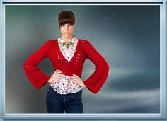 Ruby - wrap cardigan knitting pattern