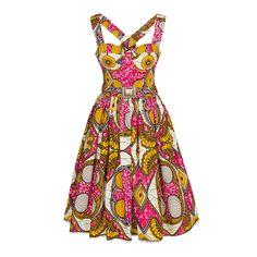 Mozambique Dress long market - Dresses - Outlet - Online Shop - Lena Hoschek Online Shop