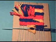 A popular lesson I teach in my elementary art classroom. This an updated version of my other weaving video. Added is how to build the loom and other common m...