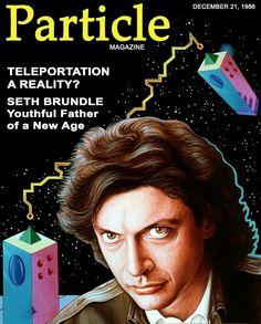 particle magazine... - (the fly)(1986)(jeff goldblum)(seth brundle)(teleportation)(magazine cover) - #particle #thefly #1986 #fly #jeffgoldblum #sethbrundle #teleportation #magazinedover