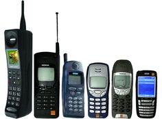 Εξέλιξη των κινητών τηλεφώνων