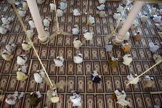 March 16, 2013. Islamic religious students take mid-term exams at Jamia Binoria, the nation's largest Islamic seminary in Karachi, Pakistan....