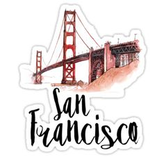 San Francisco stickers featuring millions of original designs created by independent artists. Stickers Cool, Tumblr Stickers, Printable Stickers, Laptop Stickers, Planner Stickers, Hight Light, Student Planner Printable, Homemade Stickers, Aesthetic Stickers