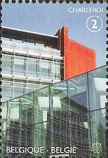belgian stamps Palaces for Justice.Charleroi