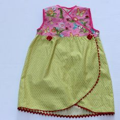 Tulip Hem Dress for little girls | AllFreeSewing.com